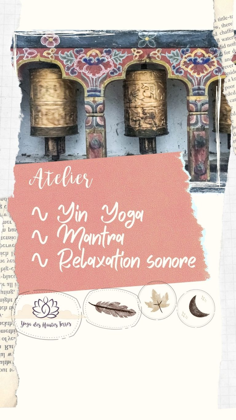 Atelier Mantra, Yin yoga et relaxation sonore à Virargues